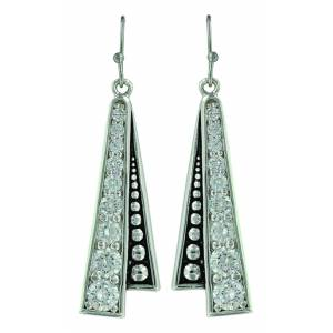 Montana Silver Western Deco Trail Earrings