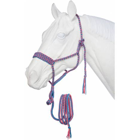 Tough-1 Mule Tape Halter With Lead