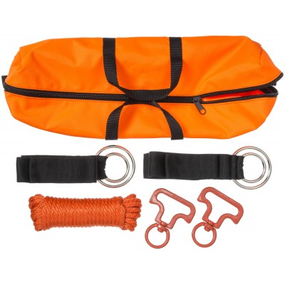 Tough-1 Two Horse No-Knot Picket Line Kit