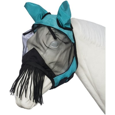 Tough-1 Deluxe Comfort Mesh Fly Mask With String Nose