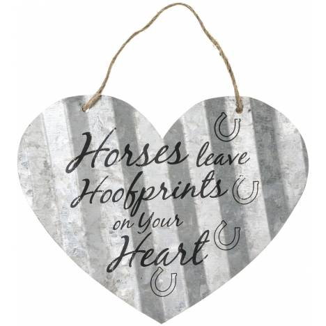 "Heart Sign 5"" - Horses Leave"