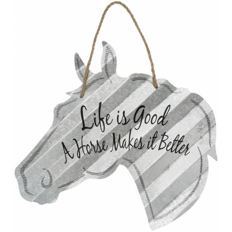 """Horse Sign 20"""" - Life Is Good"""
