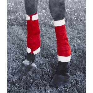 Tough-1 Santa Leg Wraps 4 Piece Set