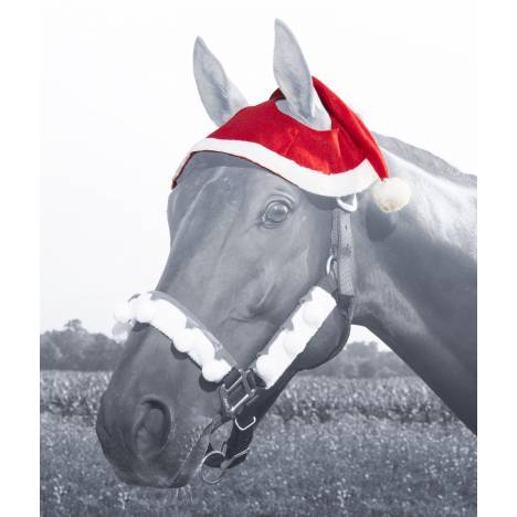 Tough-1 Santa 2 Ear Horse Hat