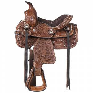 Tough-1 Miniature Braden Trail Saddle