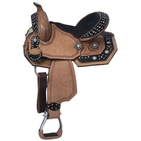 Silver Royal High Noon Pony Barrel Saddle