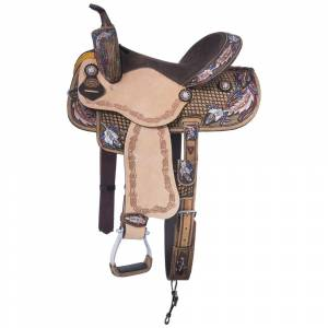 Silver Royal Royal Naomi Barrel Saddle
