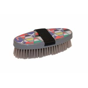 Roma Pattern Body Brush National Flags