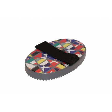 Roma Pattern Curry Comb National Flags