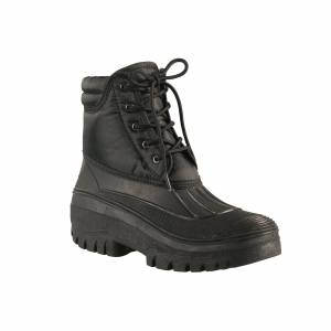 HorZe Ladies Puddle Boots with Laces