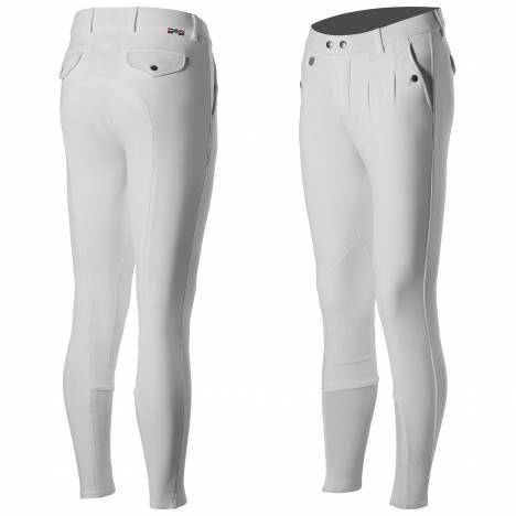 Horze Grand Prix Men's Leather Knee-Patch Breeches