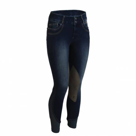 Tredstep Denim II Knee Patch Breeches - Ladies