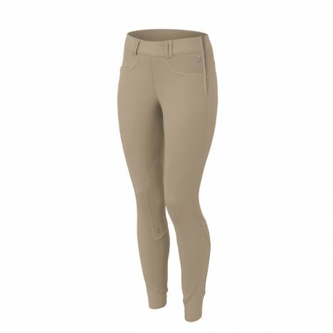 Tredstep Symphony Rosa II Side Zip Knee Patch Breeches - Ladies