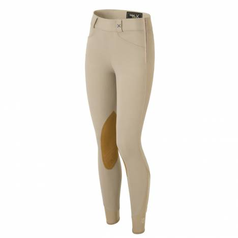 Tredstep Solo Hunter Pro Side Zip Knee Patch Breeches - Ladies