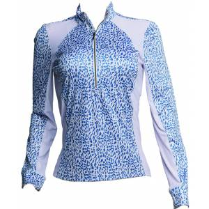Fits Sea Breeze Long Sleeve Tech Shirt - Ladies - Bleu Isles