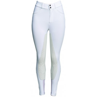 Fits Performax Full Seat Leather Front Zip - Ladies - White