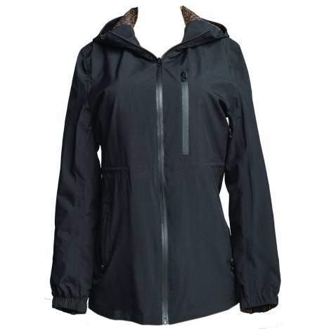Fits Cloudmax All-Season Waterproof Rain Coat - Ladies - Black