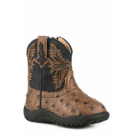 Roper Cowbabies Jed Pre-Walker Cowboy Boot - Infant