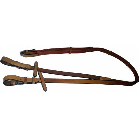 Simco English Reins - Leather/Nylon