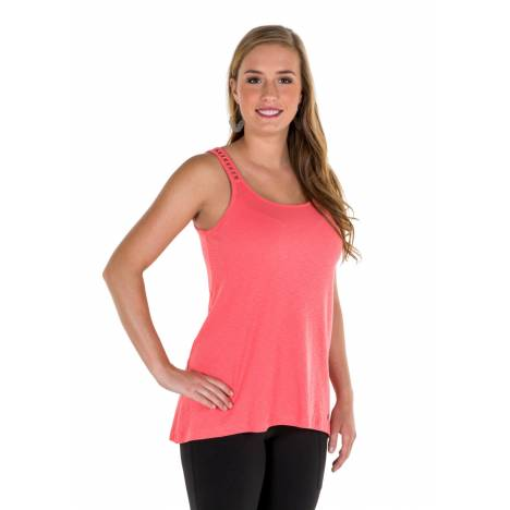 Noble Outfitters Madeline Lace Up Tank - Ladies