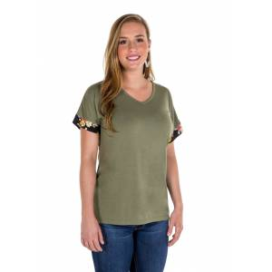 Noble Outfitters Sophia Short Sleeve Top - Ladies