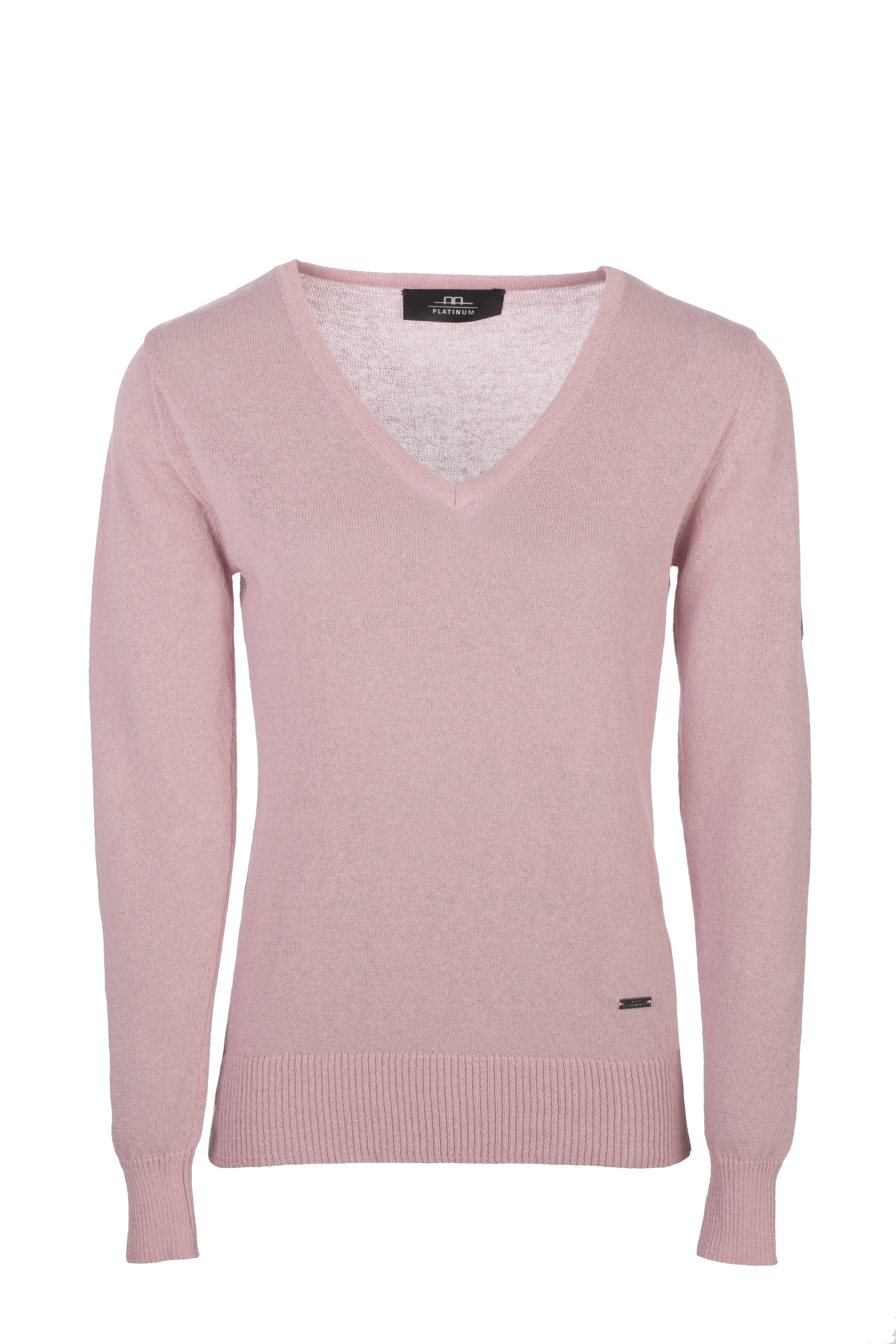 Alessandro Albanese V neck Sweater with Buttons Ladies