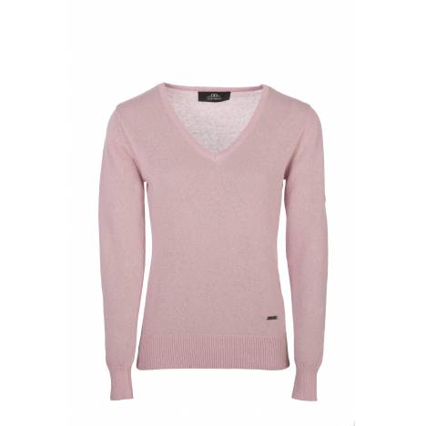 Horseware V-neck Sweater with Buttons - Ladies