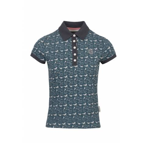 Horseware Ashlinn Horse Print Polo - Ladies