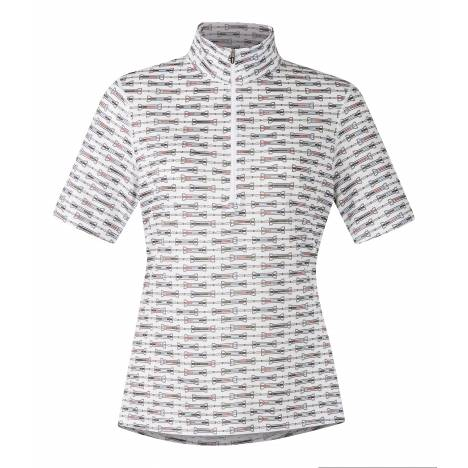 Kerrits Ice Fil Shortsleeve -Print - Ladies