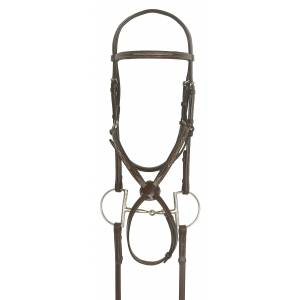 Ovation Elite Fancy Raised Figure-8 Comfort Crown Padded Bridle
