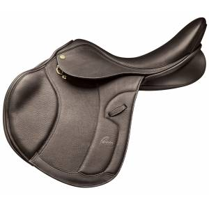 Pessoa World Champion Saddle - Dark Brown