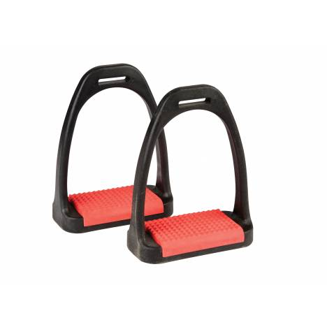 Korsteel Polymer Stirrup Irons With Colored Treads