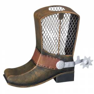 Gift Corral Metal Cowboy Boot Bank