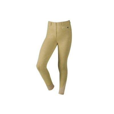 Dublin Supa Fit Pull On Knee Patch Breeches - Kids
