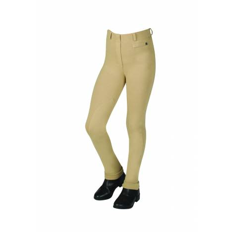Dublin Supa Fit Pull On Knee Patch Stirrup Jodhpurs - Kids