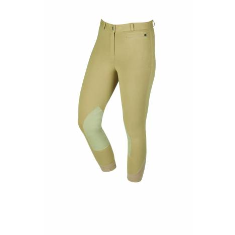 Dublin Supa-Fit Zip Up Suede Knee Patch Breeches - Ladies