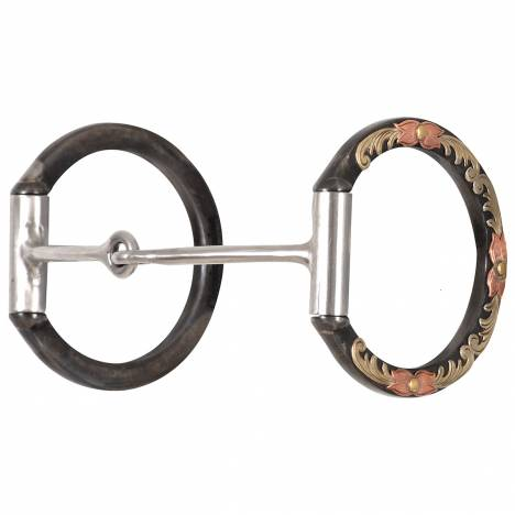 Classic Equine Tool Box Bit 3 D Ring Small Smooth Snaffle