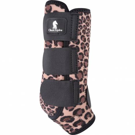Classic Equine Classic Fit Front Boot - Cheetah
