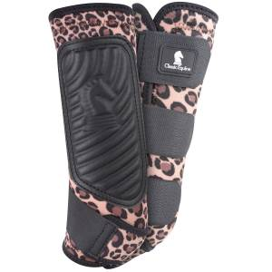 Classic Equine Classic Fit Hind Boot - Cheetah