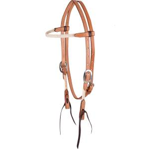 Martin Browband Rope/Leather Headstall