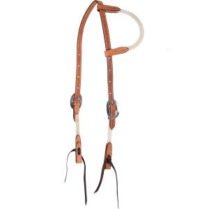 Martin Slip Ear Rope/Leather Headstall