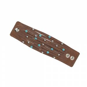 American West Leather Cuff Collection Ladies' Cuff Bracelet