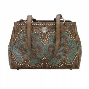 American West Annie's Secret Collection Multi-Compartment Tote