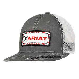 Ariat Mens Center Patch Ball Cap