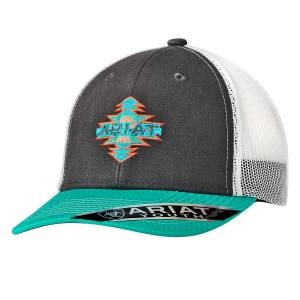 Ariat Youth Aztec Logo Ball Cap