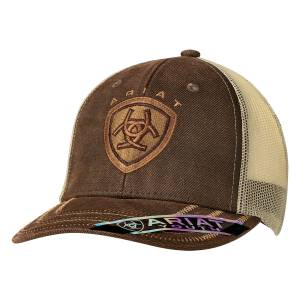 Ariat Youth Oilskin Ball Cap