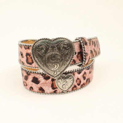Ariat Leopard Heart Belt - Girls