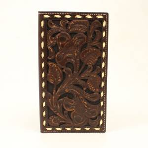 Ariat Embossed Laced Rodeo Wallet