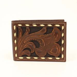 Ariat Embossed Laced Bi-Fold Wallet