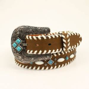 Nocona Ladies Laced Beaded Belt